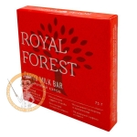 Обжаренный кэроб, 75 гр. Royal Forest Carob Milk Bar